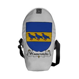 Wassersteltz Family Crest Courier Bag