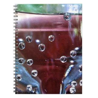 Wassertropfen joviales spiral notebooks