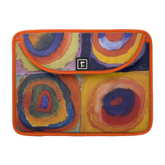 Wassiliy Kandinsky, Blue Rider Sleeves For MacBook Pro