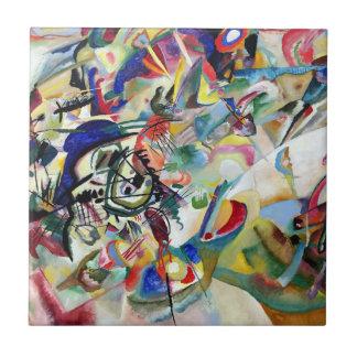 WASSILY KADINSKY - Composition VII 1913 Ceramic Tile