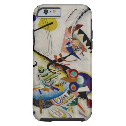 Wassily Kandinsky Abstract Blue Segment Tough iPhone 6 Case