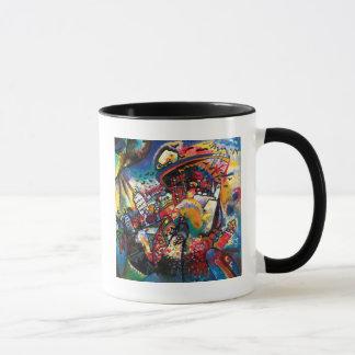 Wassily Kandinsky - arte abstracto del paisaje Taza
