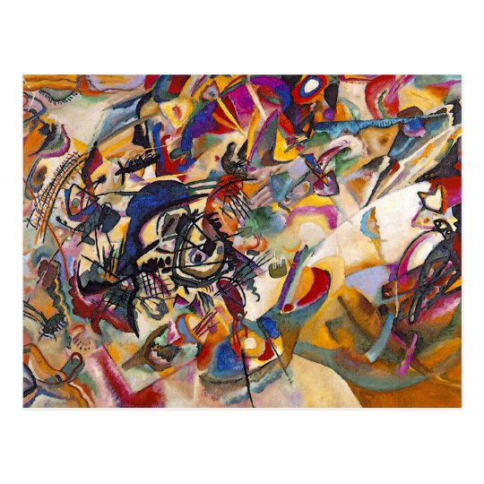 Wassily Kandinsky - Composition 7 Abstract Art Postcard