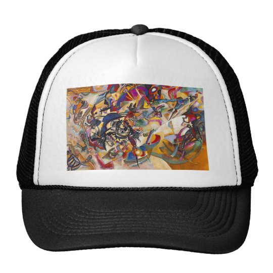 Wassily Kandinsky - Composition 7 Abstract Art Trucker Hat
