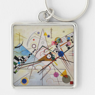 Wassily Kandinsky - Composition 8 - Functional Art Keychain