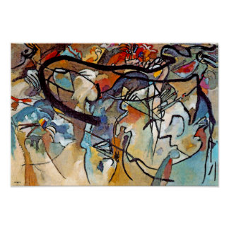 Wassily Kandinsky - Composition Five Abstract Art Poster
