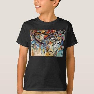 Wassily Kandinsky - Composition Five Abstract Art T-Shirt
