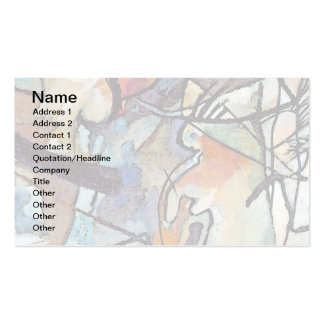 Wassily Kandinsky Composition Five Double-Sided Standard Business Cards (Pack Of 100)