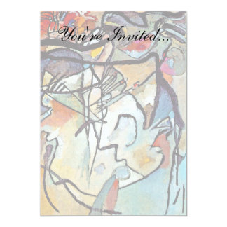 Wassily Kandinsky Composition Five Custom Invitations