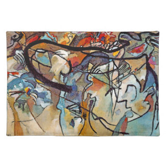 Wassily Kandinsky Composition Five Placemats