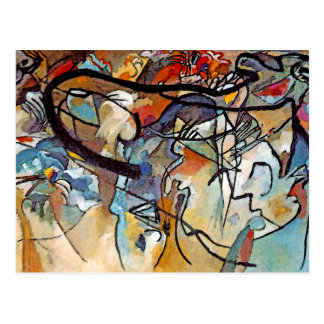 Wassily Kandinsky Composition Five Postcard