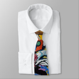 Wassily Kandinsky - Composition II Abstract Art Tie