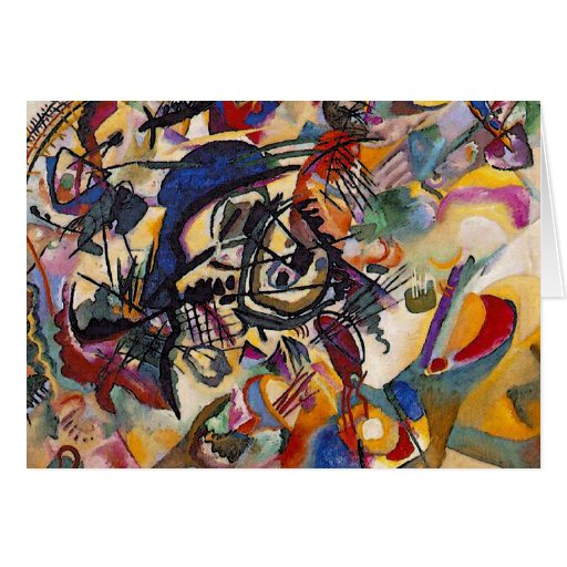 Wassily Kandinsky Composition Seven Greeting Card