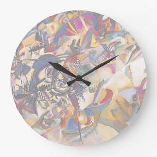 Wassily Kandinsky Composition Seven Large Clock