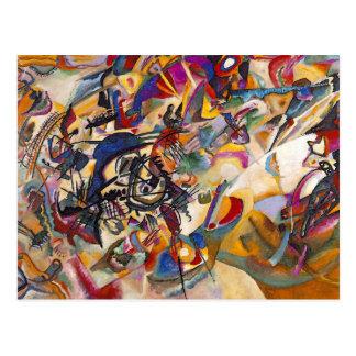 Wassily Kandinsky Composition Seven Postcard