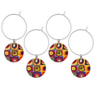 Wassily Kandinsky Farbstudie Quadrate colorido Identificadores De Copas