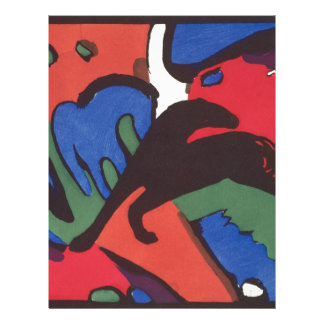 Wassily Kandinsky Franz Marc Blue Rider Painting Letterhead