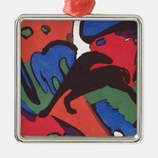 Wassily Kandinsky Franz Marc Blue Rider Painting Metal Ornament