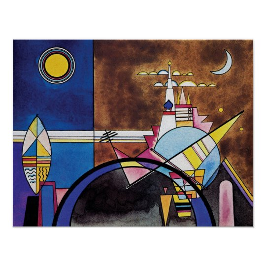 Wassily Kandinsky - Great Gate Of Kiev Abstract Poster