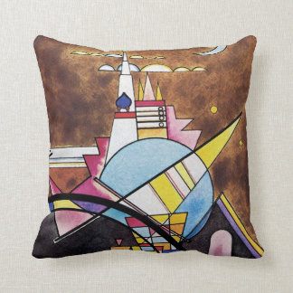 Wassily Kandinsky - Great Gate Of Kiev Abstract Throw Pillow