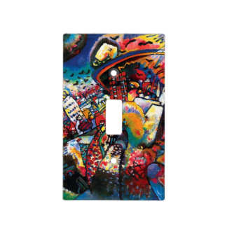 Wassily Kandinsky - Moscow Cityscape Abstract Art Light Switch Cover