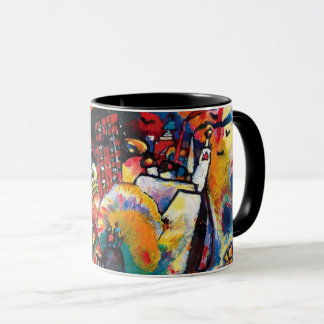 Wassily Kandinsky - Moscow Cityscape Abstract Art Mug