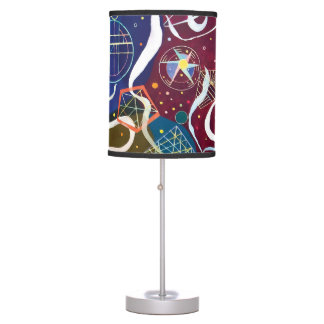 Wassily Kandinsky - Movement One Abstract Art Desk Lamp