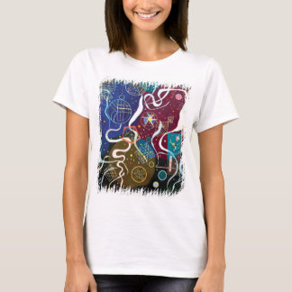 Wassily Kandinsky - Movement One Abstract Art T-Shirt