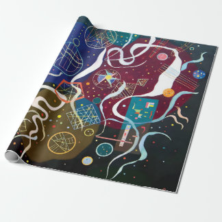 Wassily Kandinsky - Movement One Abstract Art Wrapping Paper