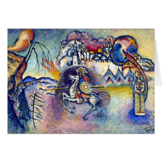 Wassily Kandinsky - Saint George & The Horsemen Card