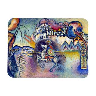 Wassily Kandinsky - Saint George & The Horsemen Magnet