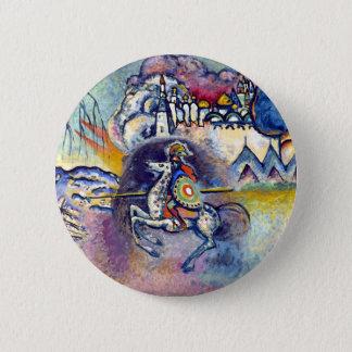 Wassily Kandinsky - Saint George & The Horsemen Pinback Button