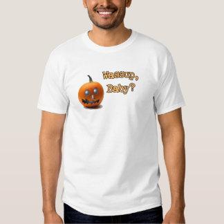 Wassup, Baby? Jack-o'-Lantern Shirt