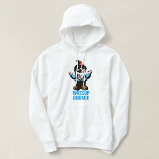Wassup Gnomie Hooded Pullover