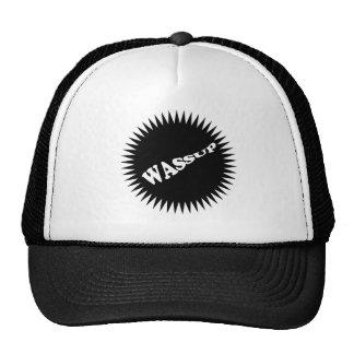 WASSUP Hat in blk/white