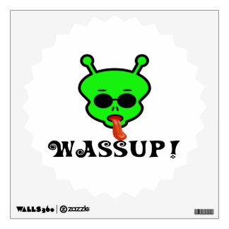 Wassup Space Alien Room Decals