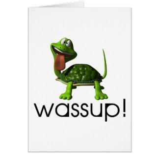 Wassup Turtle Card