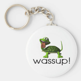 Wassup Turtle Keychain