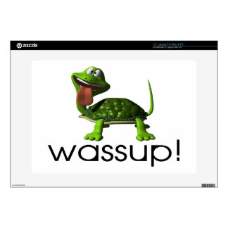 "Wassup Turtle 15"" Laptop Skins"