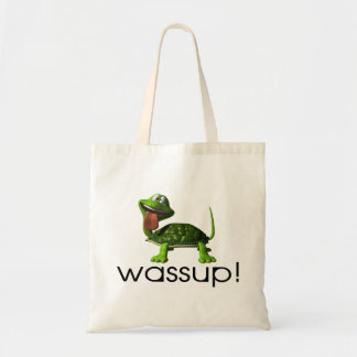 Wassup Turtle Tote Bag
