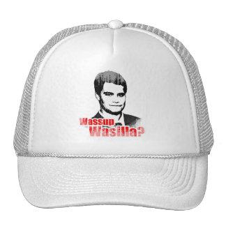 Wassup Wasilla Faded.png Trucker Hat