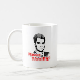 Wassup Wasilla Faded.png Coffee Mugs