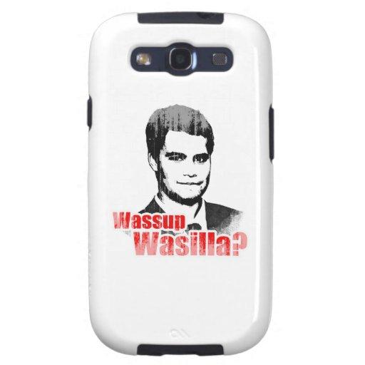 Wassup Wasilla Faded.png Samsung Galaxy S3 Funda