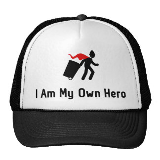 Waste Collecting Hero Trucker Hat