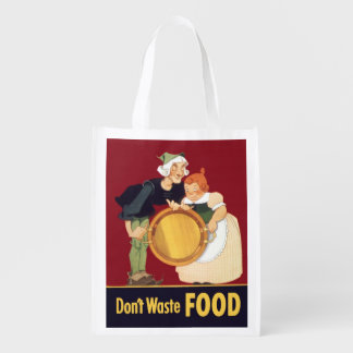 Waste Not, Want Not Reusable Grocery Bag