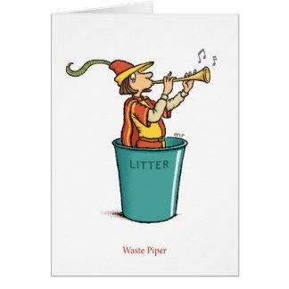 Waste Piper Card