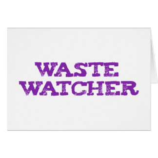 waste wading Cher Greeting Cards