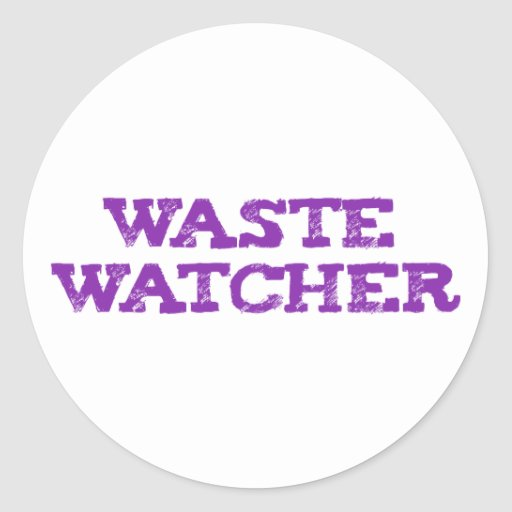 waste wading Cher Stickers