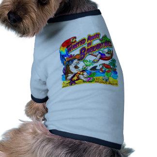 Wasted Away in Barkaritaville Dog Tee Shirt