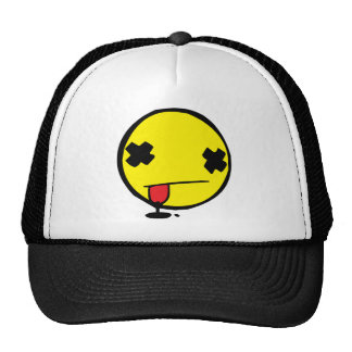 Wasted Smiley Trucker Hat